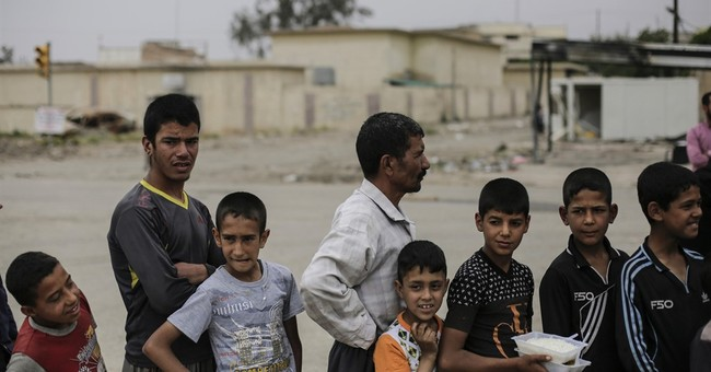 In Mosul, hunger grows amid slow advances against IS