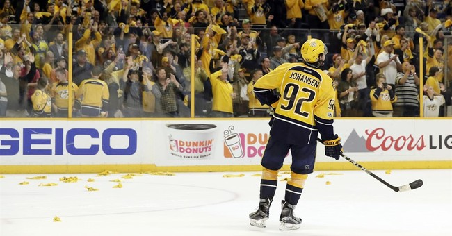 History made clinching Western finals berth, Preds now rest