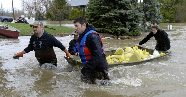 Floods drive nearly 1,900 from homes in Canada's Quebec