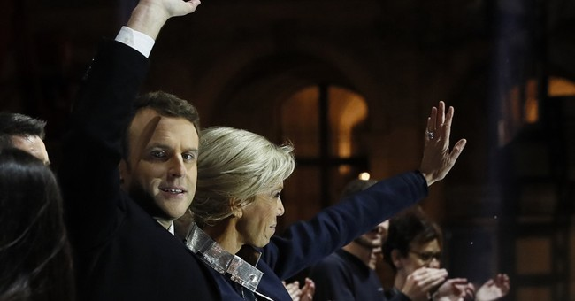 Trump praises Macron for 'big win' in France's election