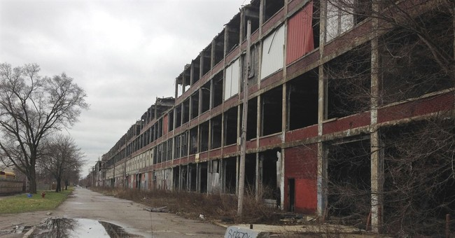 Detroit Packard car plant still in ruins 3 years after sale