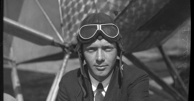 Found photos capture Charles Lindbergh before famous flight