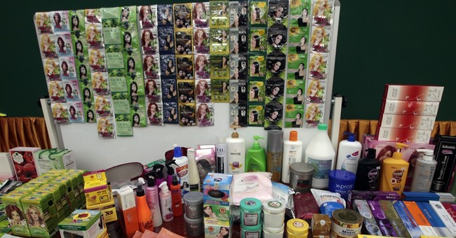 Cambodian raids net 70 tons of fake cosmetics, ingredients