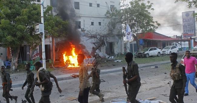 Car bomb hits Mogadishu cafe, killing 5, say Somalia police