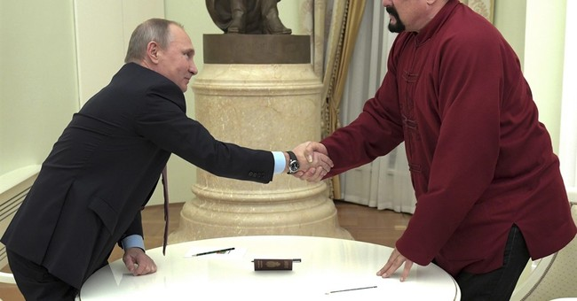 Steven Seagal is a threat to national security: Ukraine