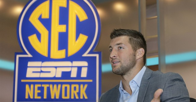 Tebow re-ups with ESPN to be analyst for SEC Network
