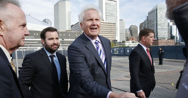 General Electric breaks ground at new Boston site