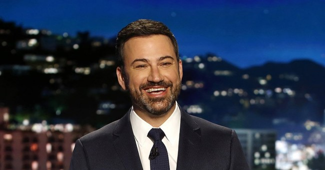 Back on TV, Kimmel zings critics of his health care plea