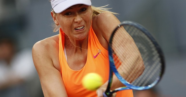 Sharapova more disappointed to lose early than to detractor