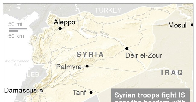 Syrian troops shift focus to IS-held east