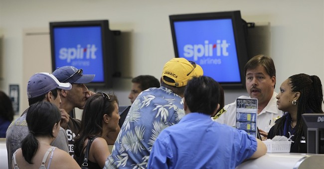 Canceled flights cause fights among Spirit Airlines passengers