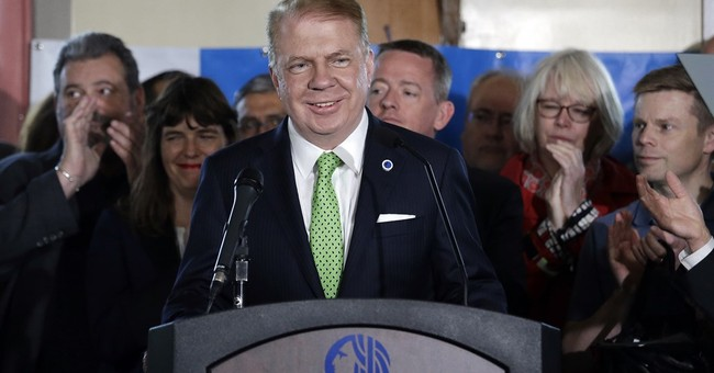 The Latest: Man sees justice as Seattle mayor drops bid
