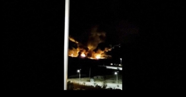Syria says Israeli missiles struck near military airport