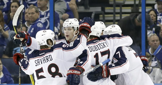 Korpisalo makes 31 saves, Blue Jackets top Lightning 3-1