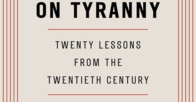 Yale professor discusses best-selling book 'On Tyranny'