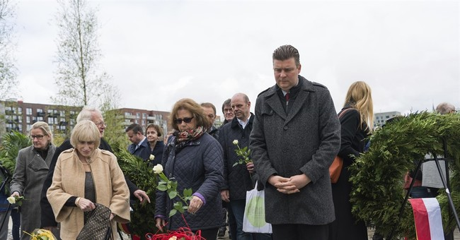 Hamburg unveils memorial to Jews, Roma killed in Holocaust
