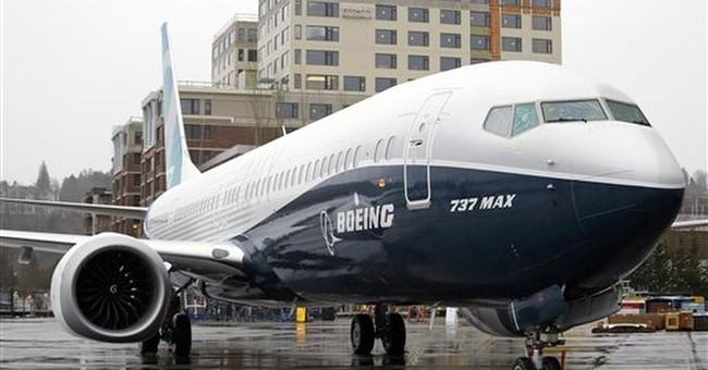 Boeing halts test flights of new plane over engine issue