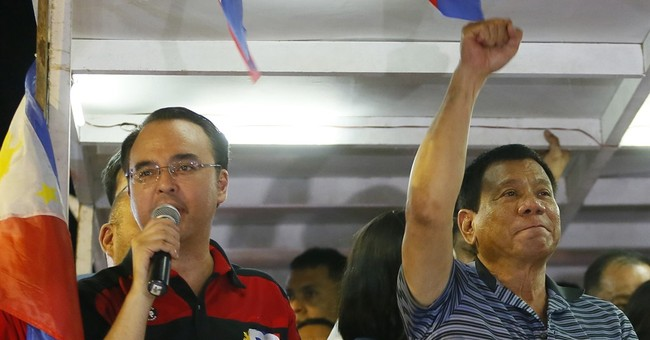 Philippine leader names his senator ally new foreign chief