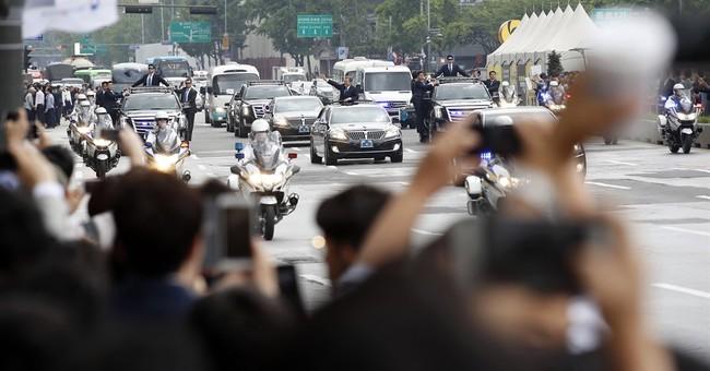 The Latest: Philippines congratulates S. Korean president