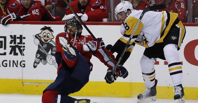Ovechkin played through hamstring, knee injuries in playoffs