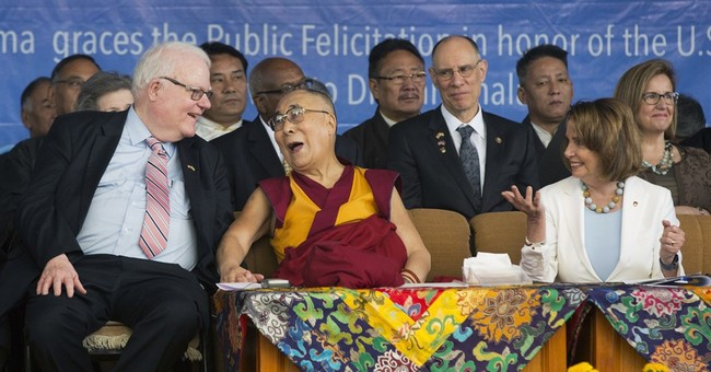 US reps, Dalai Lama take aim at China sore spot Tibet