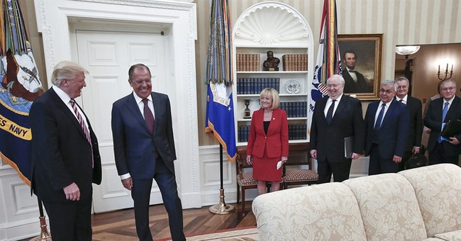 Oval Office meeting with Russian officials raises eyebrows