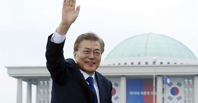 Moon's rise to power in S Korea causes worries, hopes abroad