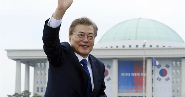 The Latest: Philippines congratulates S. Korean president