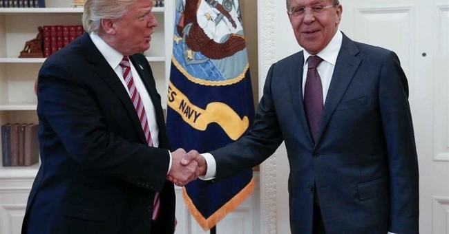 Russian government releases photos of Oval Office meeting