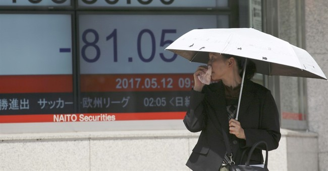 Asian stocks mostly lower as Trump uncertainty weighs
