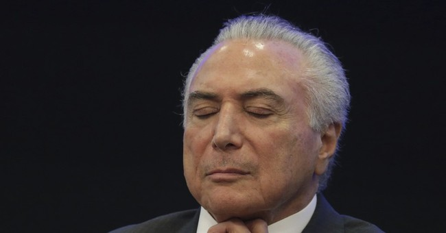 Brazil's Temer celebrates first year, expressing optimism