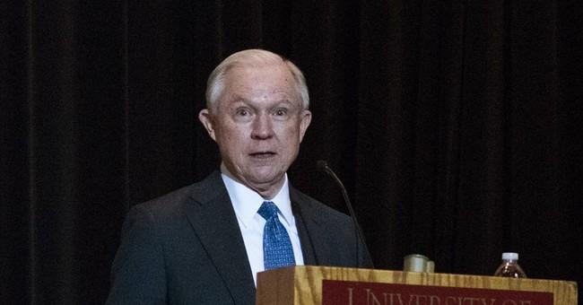 AG Sessions avoids talks of FBI director in West Virginia