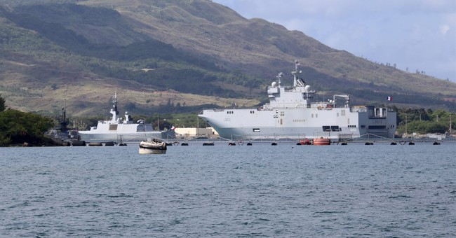 4-nation drills postponed after craft runs aground on Guam