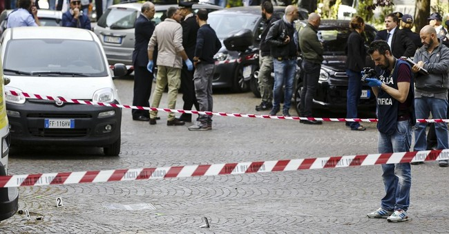 Small blast near Rome post office damages car, no injuries
