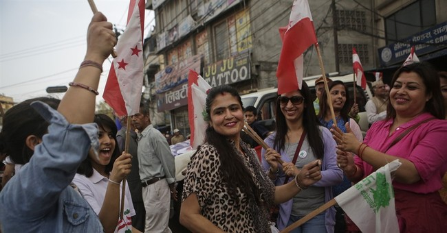 Nepalese get 1st chance in 20 years to vote for local bodies