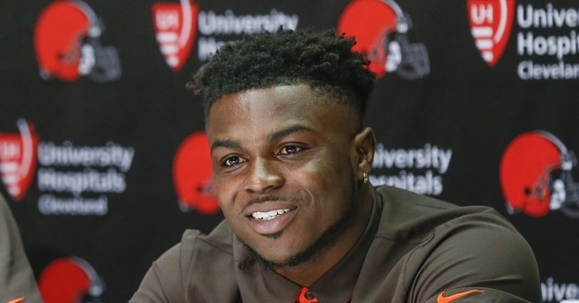 Browns rookie Peppers defends reputation amid drug talk