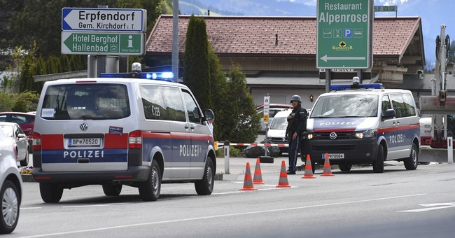 Austrian bank hostage held for hours freed; suspect arrested