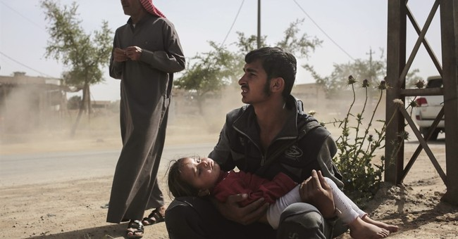 Iraqi's Shiite militias launch anti-IS push west of Mosul