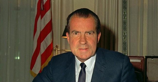 With 'tapes' tweet, Trump evokes Nixon's White House