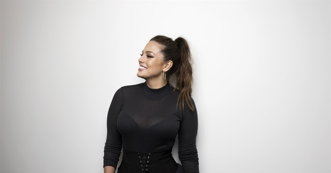 Ashley Graham is a woman with curves but don't say plus-size