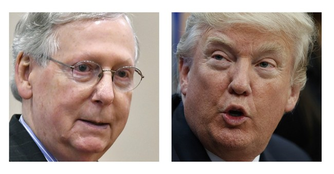 Polar opposites Trump, McConnell need each other now