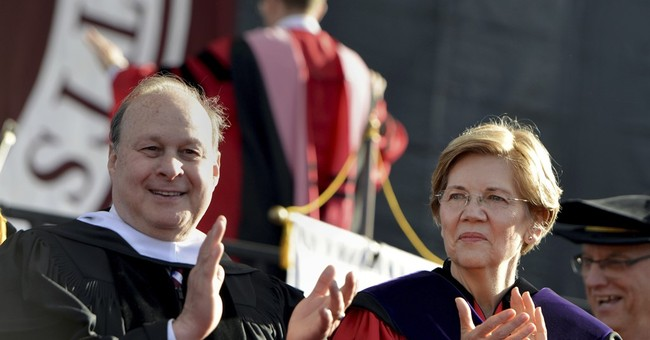 US Sen. Warren takes jab at Trump in commencement address