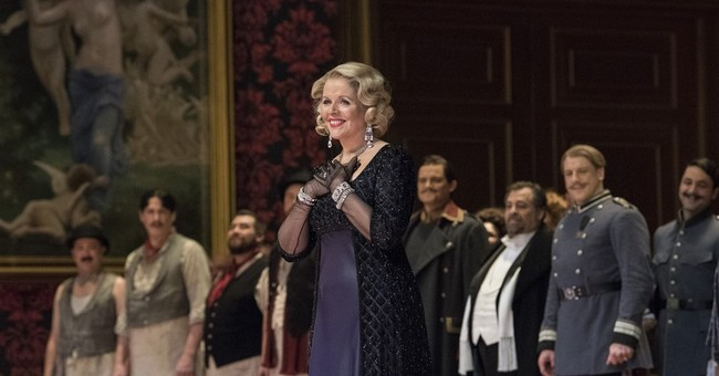 Fleming sings what may be staged standard repertoire finale