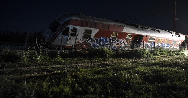 Train derailment in northern Greece leaves 4 dead, 5 injured