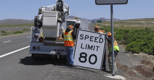 Nevada joins handful of states with spans of 80 mph driving