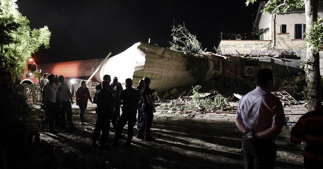 Greek train derails, crashes into house; 3 dead, 10 injured