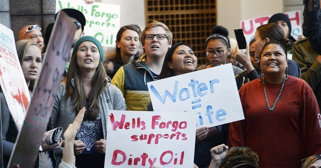Oil pipeline opponents try going after the money