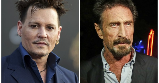 Depp to star in film as McAfee antivirus software inventor