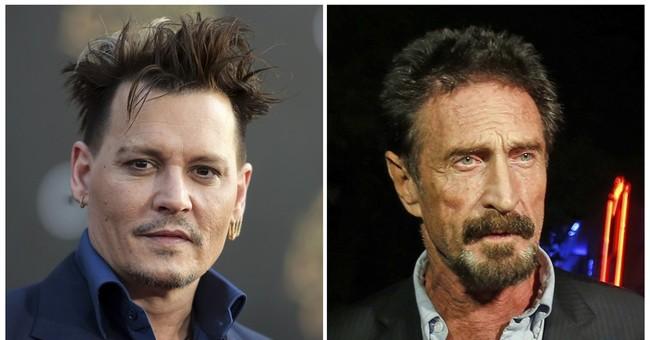 Depp to star in film as McAfee antivirus software inventor