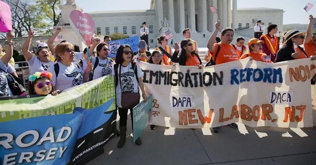 The Latest: Supreme Court's views on immigration get a test